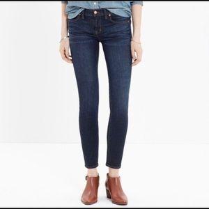 Madewell Skinny Crop Jeans in Midnight Haze